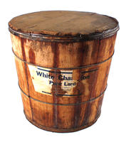 Lard barrel