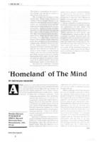 """Homeland"" of the mind"