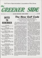 The Greener Side. Vol. 5 no. 3 (1982 July)