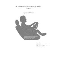 Cover of ergonomic technical report