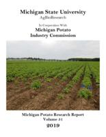 Cover of potato research report