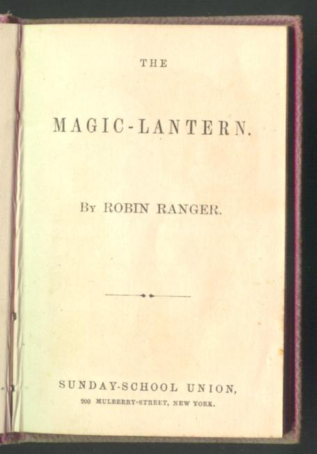 The magic-lantern