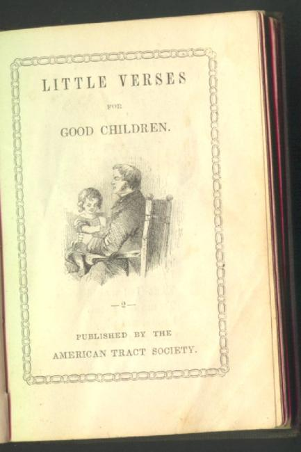 Little verses for good children