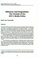 Militancy and pragmatism : the genesis of the ANC's media policy