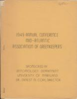 1949 Annual Conference, Mid-Atlantic Association of Greenkeepers
