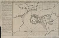 A plan of the town & fortress of Gariah belonging to Angria the admiral to the Sahou Rajah on the coast of Mallabar