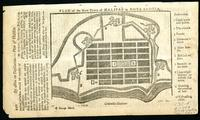Plan of the new town of Halifax in Nova Scotia