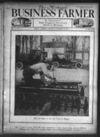 Michigan business farmer. Vol. 10 no. 11 (1923 January 20)