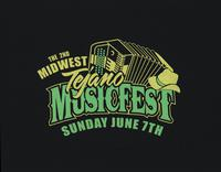 2nd midwest Tejano musicfest, Sunday June 7th t-shirt
