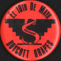 El 10th de Mayo boycott grapes