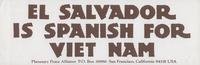 El Salvador is Spanish for Viet Nam