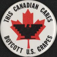This Canadian cares boycott U.S. grapes