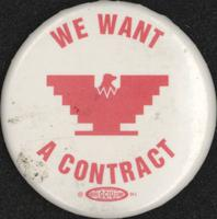 We want a contract