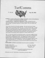 TurfComms. Vol. 13 no. 6 (2001 September 30)